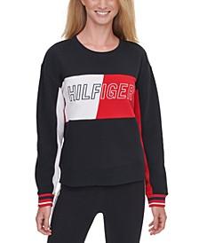 Colorblocked Graphic Sweatshirt