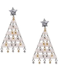 INC Shaky Bead Decorated Tree Drop Earrings, Created for Macy's