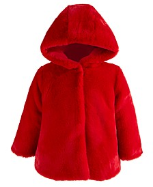 Baby Girls Statement Coat, Created for Macy's