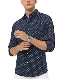 Men's Dot-Print Shirt