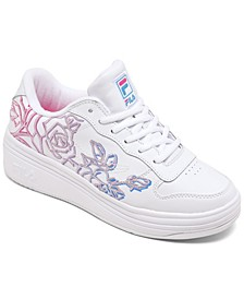 Women's WX-100 Floral Casual Sneakers from Finish Line