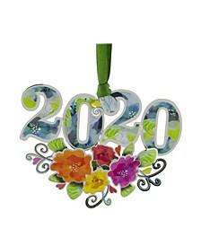 2020 Numerals Ornament