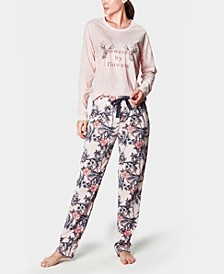 Powered by Flowers Women's Pajama Set