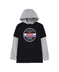 2Fer Big Boys Hooded T-shirt