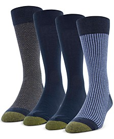Men's 4-Pack Classic Menswear Socks