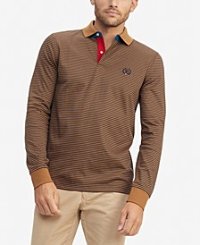 Men's Brewster Custom-Fit Stripe Polo Shirt
