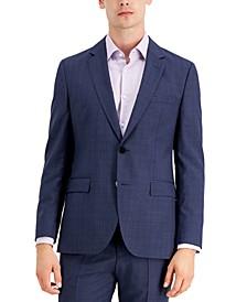 Men's  Modern Fit Navy Suit Jacket