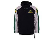 Men's Seattle SuperSonics Half-Zip Anorak Jacket