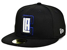 Los Angeles Clippers Court Banner 59FIFTY Cap