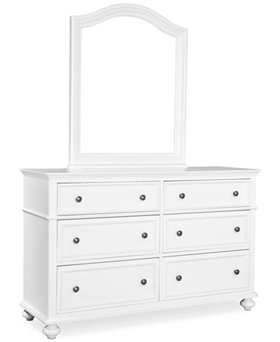 Roseville Kids Bedroom Furniture, 6 Drawer Dresser - Furniture ...