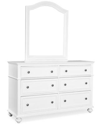 Roseville Kids Bedroom Furniture, 6 Drawer Dresser