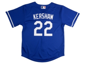 Nike Youth Los Angeles Dodgers Clayton Kershaw Official Player Jersey