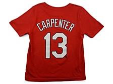 St. Louis Cardinals Youth Name and Number Player T-Shirt Matt Carpenter