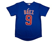 Youth Chicago Cubs Javier Baez Official Player Jersey