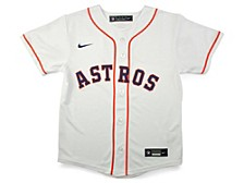 Youth Houston Astros Official Blank Jersey