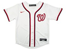 Youth Washington Nationals Official Blank Jersey
