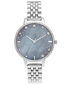 Women's Celestial Stainless Steel Bracelet Watch 34mm