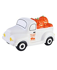 Lit Nostalgic Halloween Truck