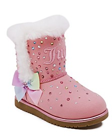 Little Girls Cozy Boots