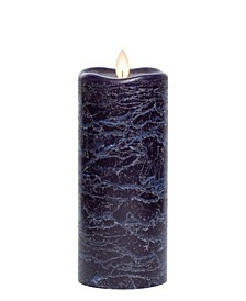 Frosted Candle Wax Pillar