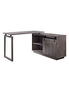 Bellarosa Desk with Cabinet