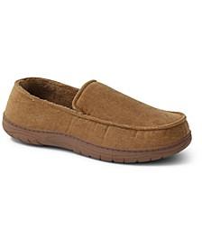 Men's Corduroy Moc-Toe Slippers