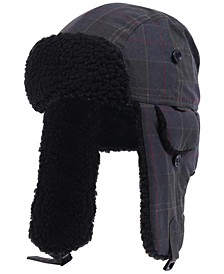 Men's Darwen Wax Tartan Trapper Hat