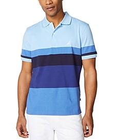 Men's Colorblocked Cotton Jersey Polo