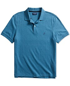 Men's Solid Cotton Interlock Polo