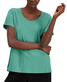 Organic Cotton T-Shirt, Available in Regular & Petite Sizes