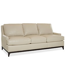 "Skylee 89"" Leather Sofa, Created for Macy's"