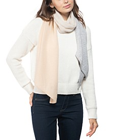Cashmere Colorblocked Muffler Scarf, Created for Macy's