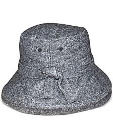 Wool Blend Boucle Kettle Hat