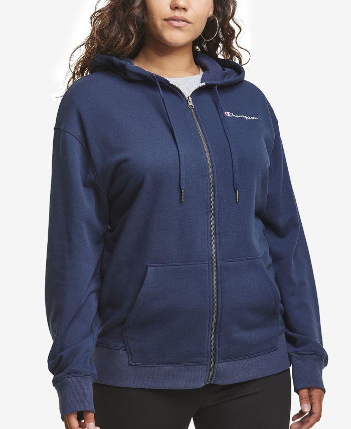 Champion - Plus Size Campus French Terry Hoodie