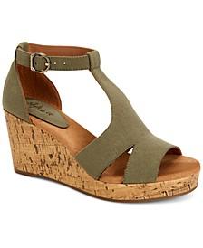 Selenaa Wedge Sandals, Created for Macy's