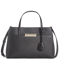 Maiden Way Saffiano Zuri Satchel
