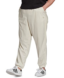 Plus Size Corduroy Cuffed Pants
