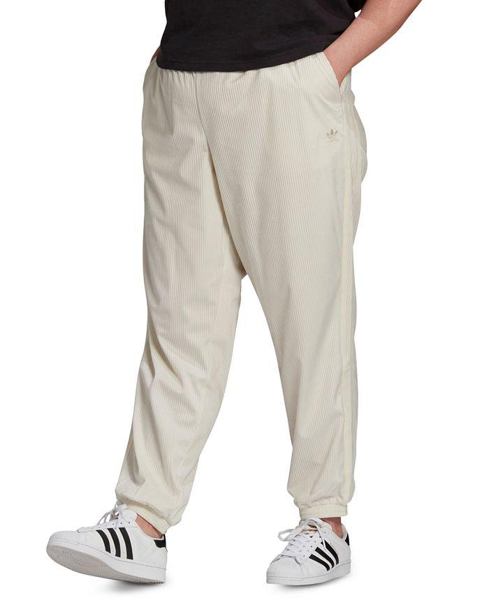 adidas - Plus Size Corduroy Cuffed Pants