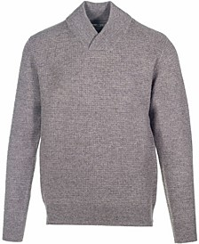 Men's Wool Blend V-Neck Sweater