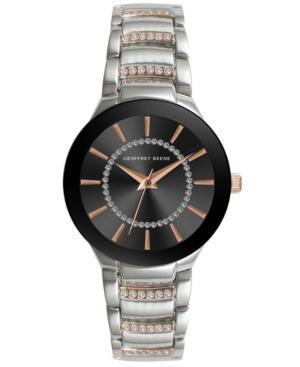 Women's Silver-tone Rose Gold Metal Alloy Bracelet Watch