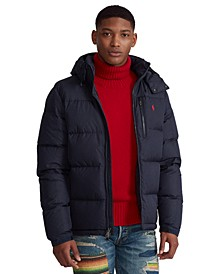 Men's Water-Repellent Down Jacket