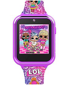 Kid's LOL Surprise Pink Silicone Strap Smart Watch 46x41mm