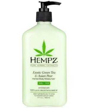 Exotic Green Tea & Asian Pear Herbal Body Moisturizer