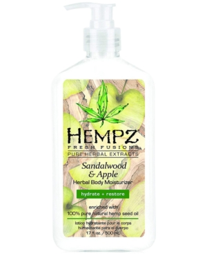 Fresh Fusions Sandalwood & Apple Herbal Body Moisturizer