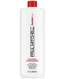 Fast Drying Sculpting Spray 55%, 33.8-oz., from PUREBEAUTY Salon & Spa