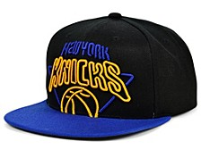 New York Knicks Neon Crop XL Snapback Cap