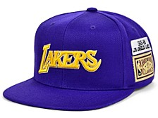 Los Angeles Lakers Hardwood Classic Jockey Snapback Cap