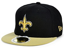 Youth New Orleans Saints 2 Tone 59FIFTY Cap