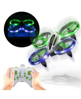 "Sharper Image Glow Stunt 5"" Drone"