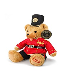 Toy Plush Anniversary Bear 12inch with Soldier Uniform